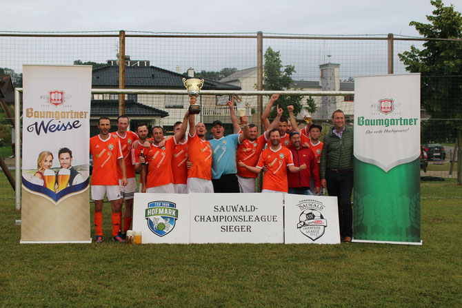 der amtierende Champion: TSV 1609 Hofmark