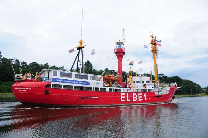 Feuerschiff Elbe 1 - Bürgermeister O´swald