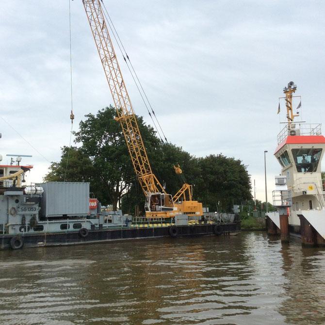 Kanalarbeiten - https://de.m.wikipedia.org/wiki/Nord-Ostsee-Kanal