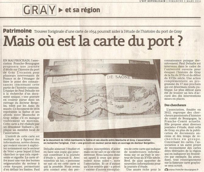 ICL correcteur, Franche Bourgogne, port de Gray