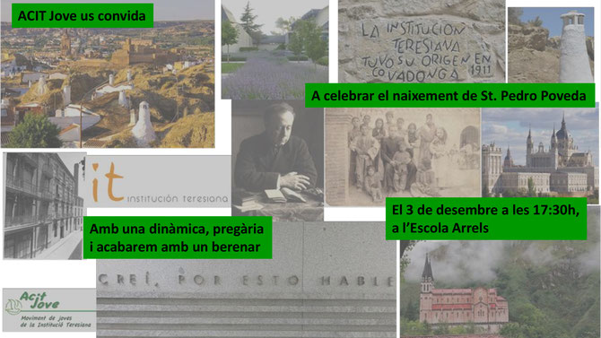 DILLUNS 3 DE DESEMBRE DE 2018,  C/ Cardenal Tedeschini Escola Arrels: Carrer Cardenal Tedeschini 76, 08027 Barcelona.  Metro L5, Congrés o L1, Fabra i Puig