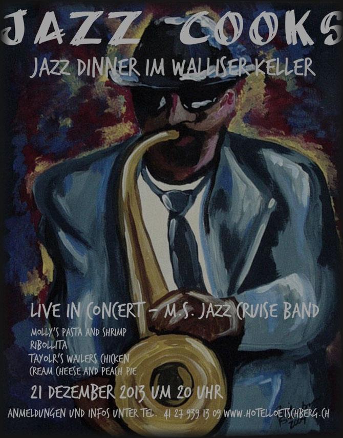 Jazz Dinner im Lötschental