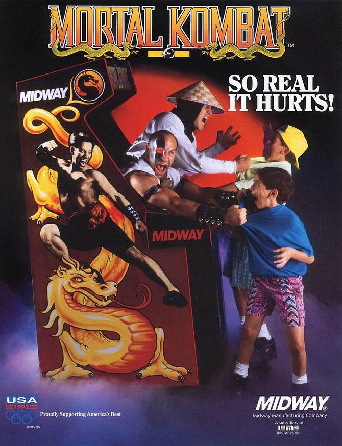 Mortal Kombat 1 arcade