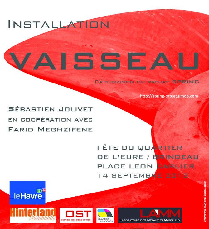 Sébastien Jolivet Farid Meghzifene Art Contemporain Le Havre Fête Quartier de l'Eure