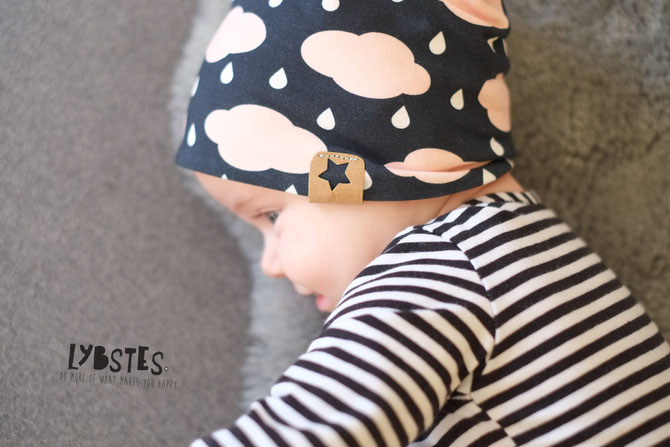 Lybstes, Beanie Aktion: Beanie E-Book und Schnittmuster shoppen und los nähen, Babymütze mit Ohrenschutz oder Schirm