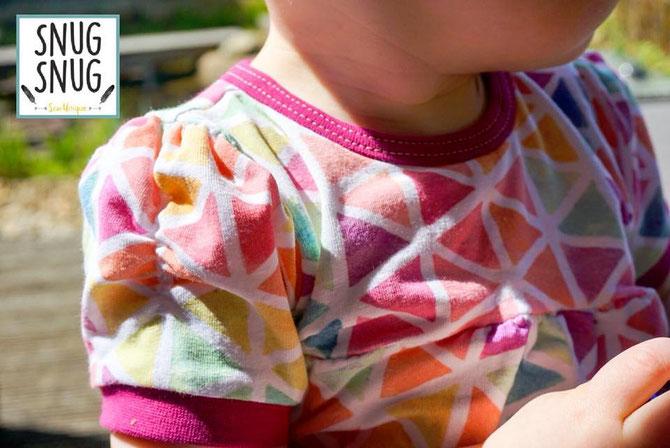 Lybstes Sommerbody Freebook fürs Baby! Gr. 56 - 74 umsonst - free pattern, seitliche Knopfleiste nähen