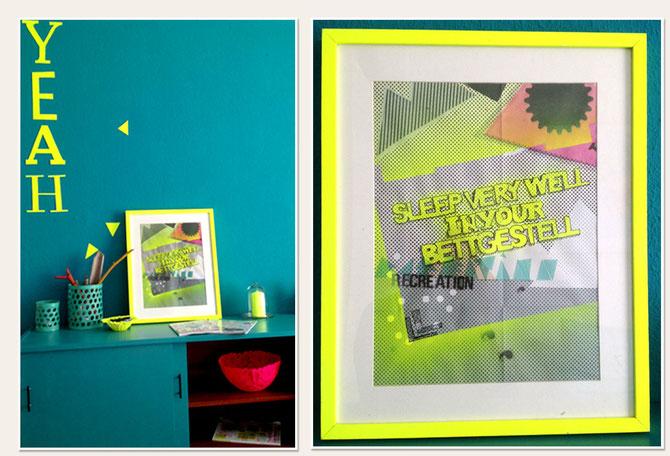 Lybstes.de Neon Plakat