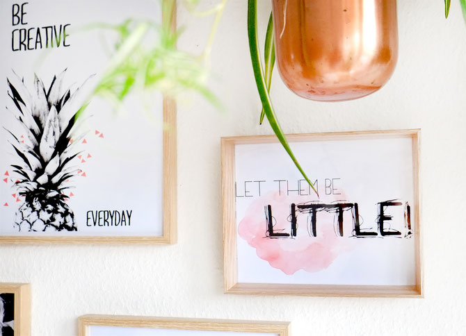 "Lybstes Interiour: Poster-Freebie! Gratis Poster ausdrucken ""Let them be little"""