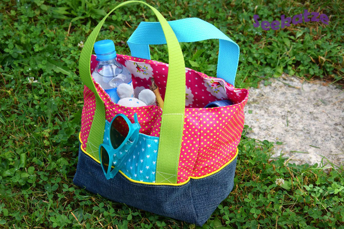 Lybstes Kidstasche FREEBOOK, Kindergartentasche von Seekatze genäht