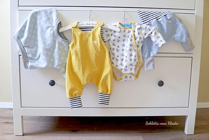 Das Lybstes Babyset - absolut anfängertaugliche Schnittmuster für werdene Mamas die ihre eigene Baby-Kollektion nähen wollen
