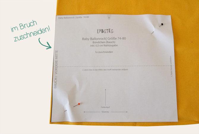 Ballonrock in Gr. 50-104: Das neue Schnittmuster von Lybstes! Mit ...