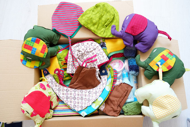 Willkommensets im Mai: Bereits 663 Sets für Flüchtlingsbabys ...