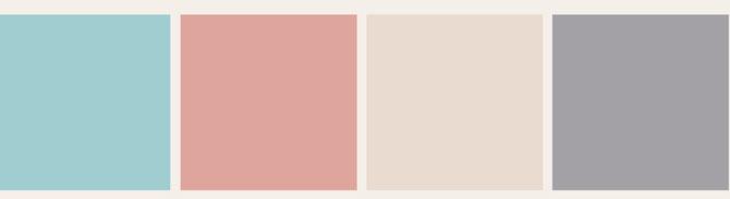 Farbschema Esszimmer