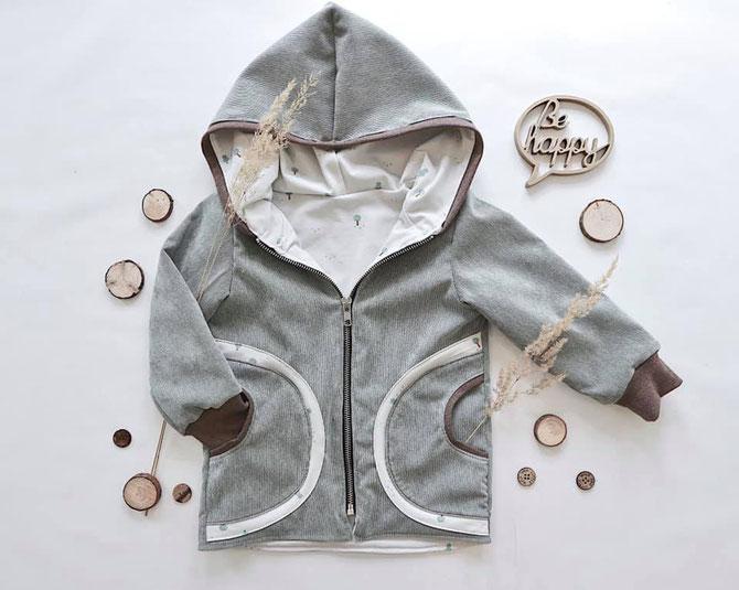 Lybstes. Lyblingsjacke: Mantel oder Jacke nähen mit Schnittmuster, auch für Babys, Jungsoutfit