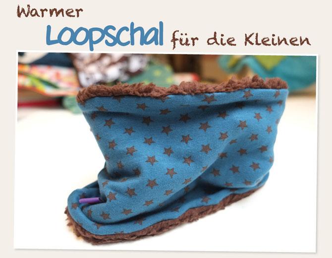 Kuscheliger Loopschal Für Kids Lybstes