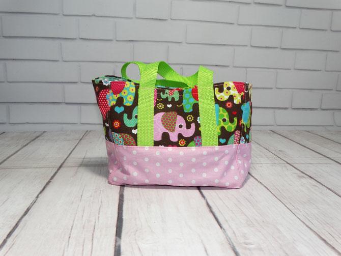 Lybstes Kidstasche FREEBOOK, Kindergartentasche von Aufgmaschelt genäht