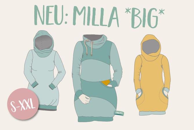 """NEU: Das Ballonkleid """"Milla"""" von Lybstes als Damenschnitt S-XXL"""