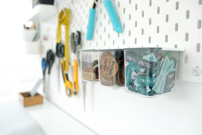 Lybstes Nähzimmer einrichten: Zuschneidetisch selber bauen, Ikea-Hack,