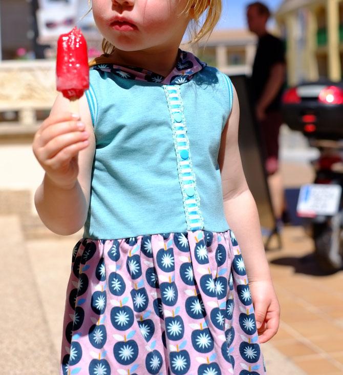 Lybstes Sommerkleid Kids Schnittmuster, nähen, Urlaub