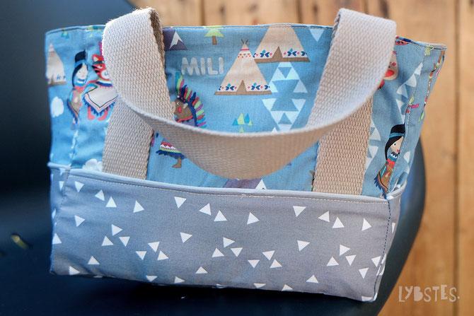 Lybstes Kidstasche FREEBOOK, Kindergartentasche für kleine Indianer