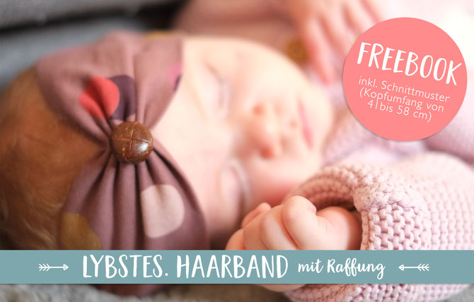 Freebook Schnelles Haarband Tutorial Lybstes