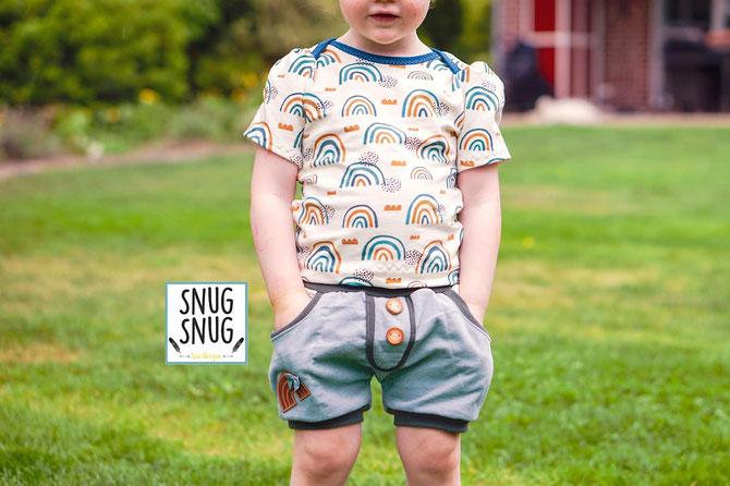Lybstes Kurze Pumphose 2.0 nähen! Jungs-Shorts Kids - perfektes Sommeroutfit!