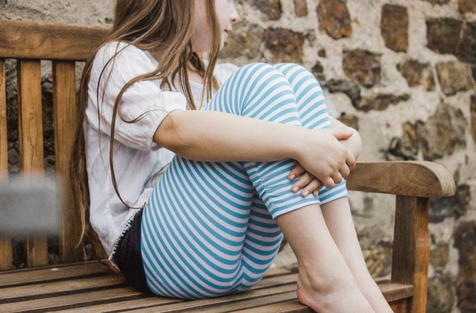 Lybstes Leggings Kids nähen! Gr. 122 - 170 - auch für Teenies - Sommeroutfit mit Dreiviertel-Leggings