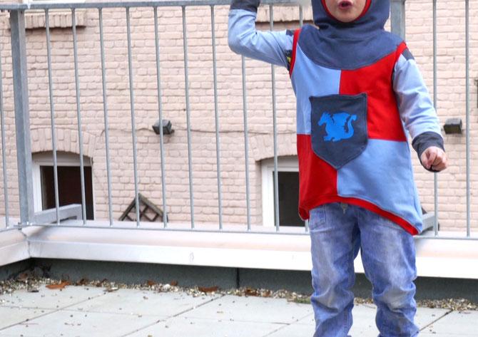 Lybstes. Kostüm, Faschingskostüm selber nähen für Kinder, Ritter-Kostüm