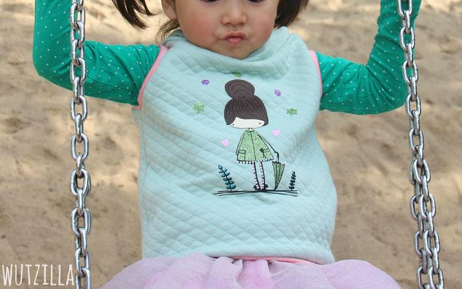 Lybstes Herbst-Set: Hoodie und Shirt für das perfekte Herbstoutfit für Kinder, Herbstmädchen Paul & Clara
