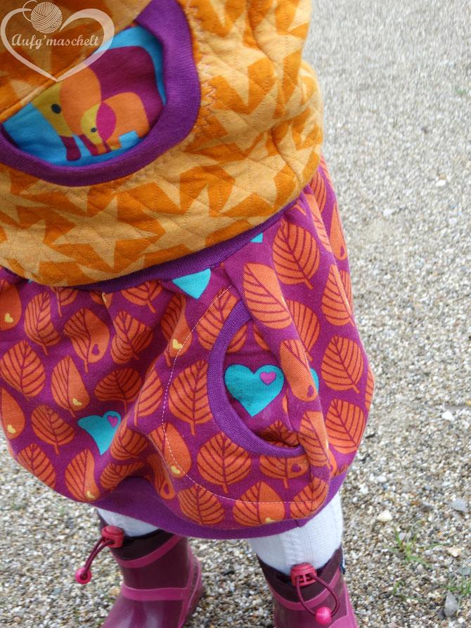 Lybstes Herbstset mit Hoodie als Pullunder und Langarmshirt