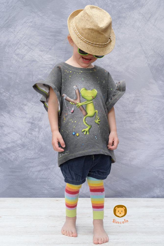 Lybstes Oversized Sweater für Kinder und Babys nähen: neues Schnittmuster für Anfänger
