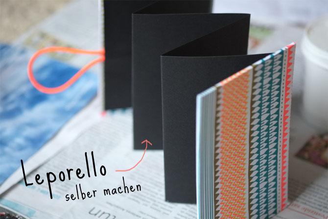 leporello basteln weihnachtsgeschenke selber machen lybstes. Black Bedroom Furniture Sets. Home Design Ideas