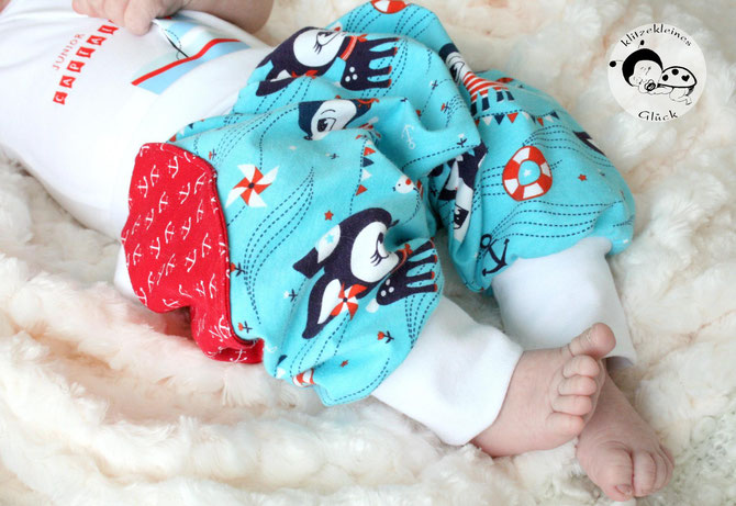 Baby-Pumphose selber nähen: aktualisiertes Schnittmuster! - Lybstes.