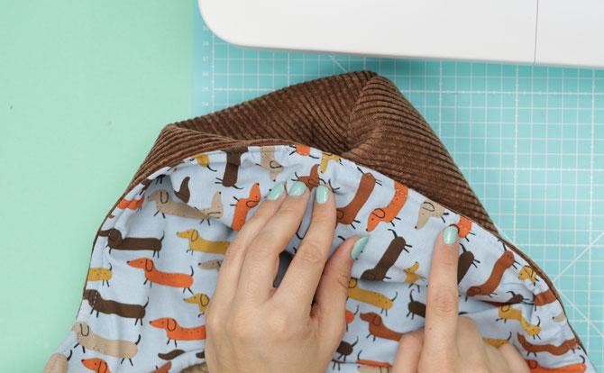 Lybstes Lyblingsjacke nähen als Weste - Nähanleitung für Anfänger - Kinderjacke selber nähen