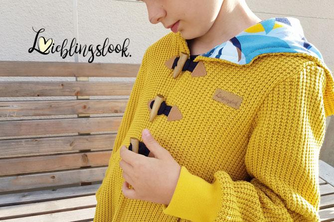 Lybstes Lyblingsjacke für Kids und Teens nähen: Schnittmuster, E-Book und Nähanleitung