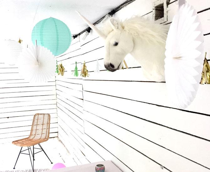 Lybstes Haus: Gartenhaus renovieren in Mint und Grau, Hauskauf2018, InteriorDesign, UNICORN