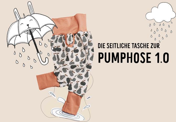 FREEBIE zur Lybstes Pumphose! Die seitlichen Taschen als Freebook zum Herunterladen!