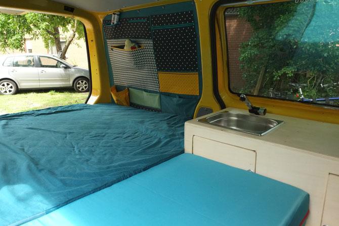 Unser Bus Bekommt Eine Mobile Miniküche Busausbau T5 Teil 2