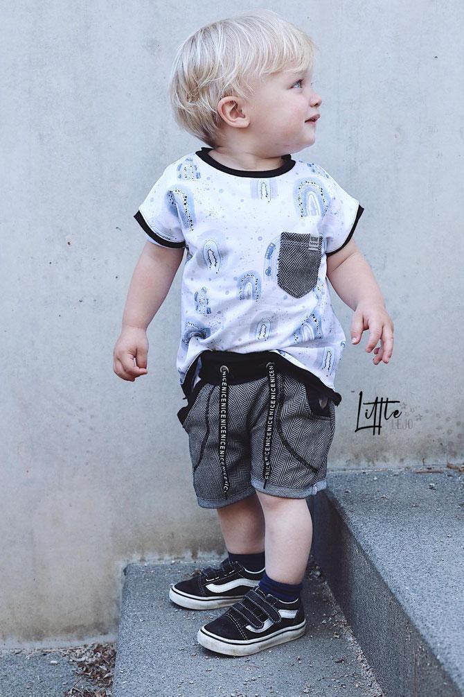 Lybstes Kurze Pumphose 2.0 nähen! Für Babys und Kids - perfektes Sommeroutfit!