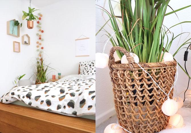 Lybstes Interiordesign: Dekotipps um das Schlafzimmer gemütlich zu machen
