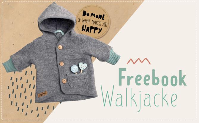 Lybstes Freebook: Baby-Walkjacke nähen mit kostenlosem Schnittmuster (Gratisdownload!)