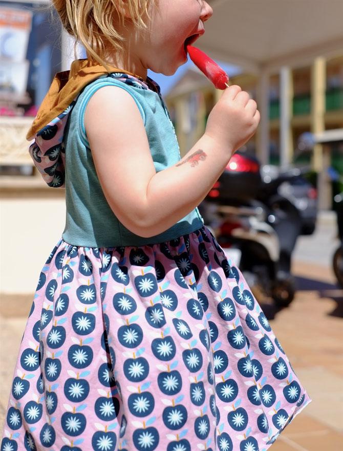 Lybstes Sommerkleid Kids Schnittmuster selber nähen