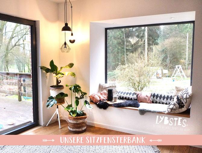 Lybstes Altbausanierung: unsere Sitzfensterbank, Interiordesign, NordicHome