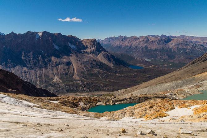 Paso del Cuadrado, El Chaltén, Patagonien
