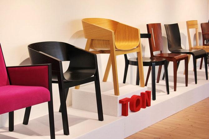 Stuhl kaufen Sinsheim Ton Showroom Presenta