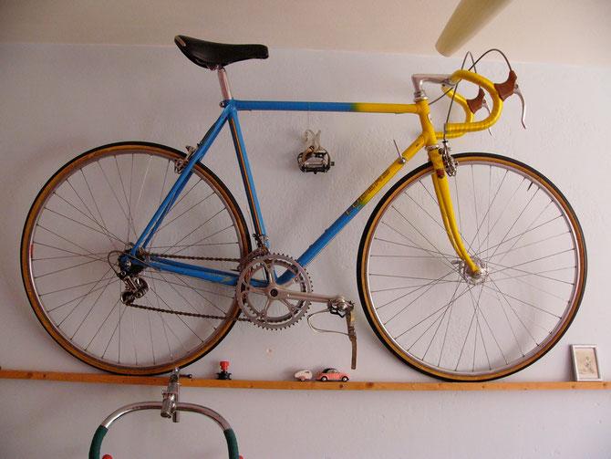 Berliner Rahmenbauer, der Rennradrahmen für das olympische team u. Eddy Merxx baute