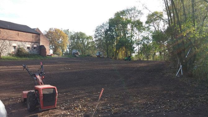 Bauarbeiten am 4.11.2014