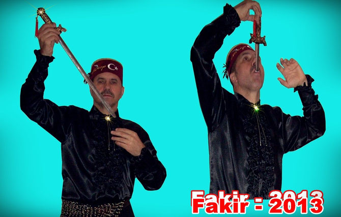Fakirtrick.