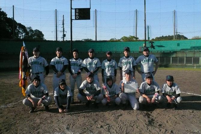 B級春季大会 優勝:LEVEL Ⅳ