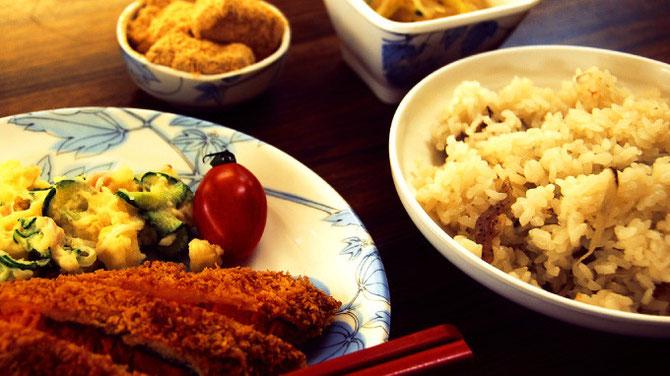 和束 満喫イベント 手料理
